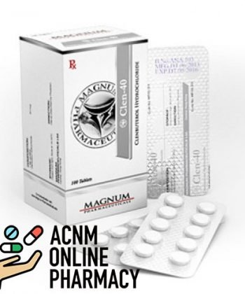 clenbuterol-magnum 40 mg ACNM PHARMACY