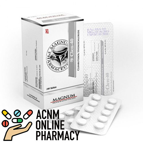 clenbuterol-magnum 40 mg ACNM PHARMACY