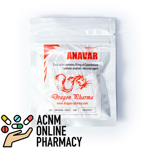 Anavar 50 mg for sale ACNM Online Pharmacy