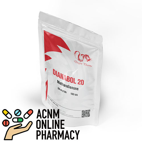 Dianabol 20 mg ACNM ONLINE PHARMACY